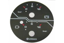Polycarbonate plates for dials